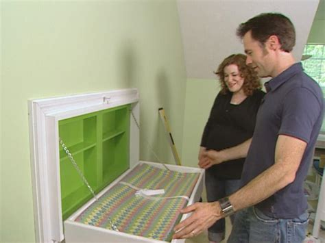 Diy Fold Away Changing Table