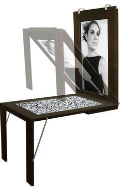 Diy Fold Down Picture Frame Table