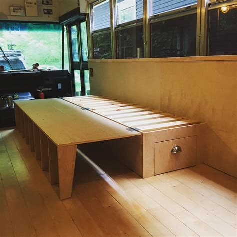 Diy Fold Out Camper Bed Assembly