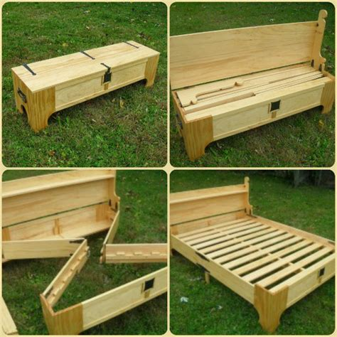 Diy Folding Bed Bench
