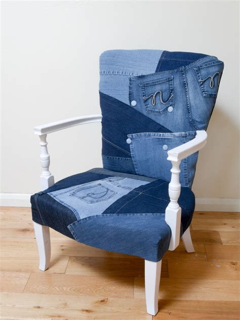 Diy Folding Chair Blue Jean