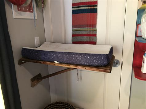 Diy Folding Changing Table