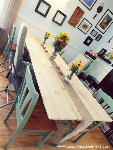Diy Folding Dining Table