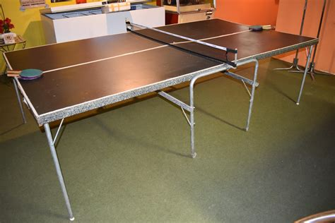 Diy Folding Mechanism For Ping Pong Table