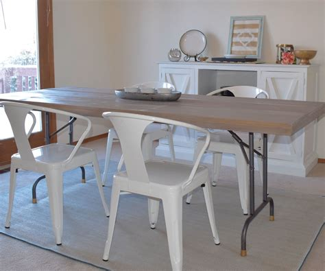 Diy Folding Table Into Dining Table