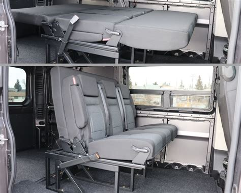 Diy Folding Van Bed Seats