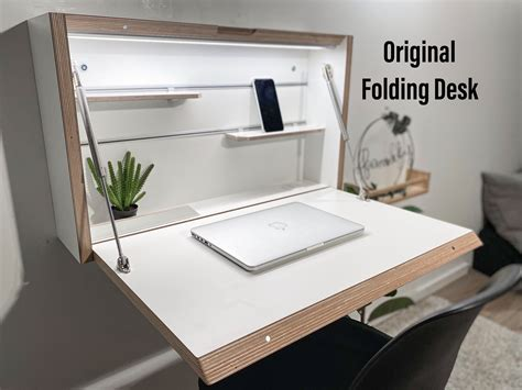 Diy Folding Wall Desk Plans