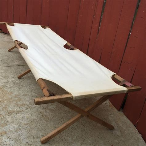Diy Folding Wood Camp Cots