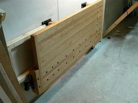 Diy Folding Workbench Wall Mount