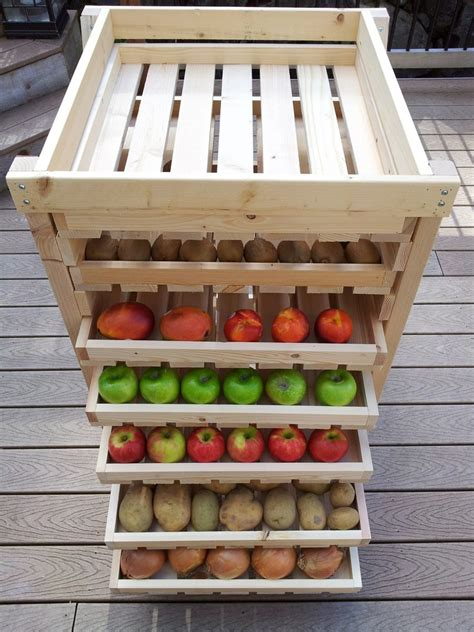 Diy Food Storage Shelves