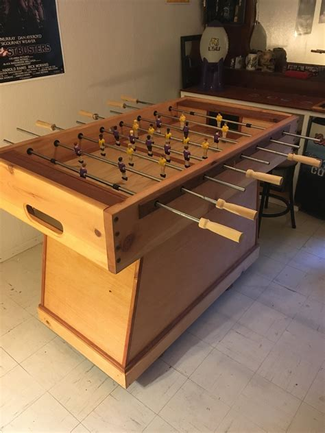 Diy Foosball Table Materials Made