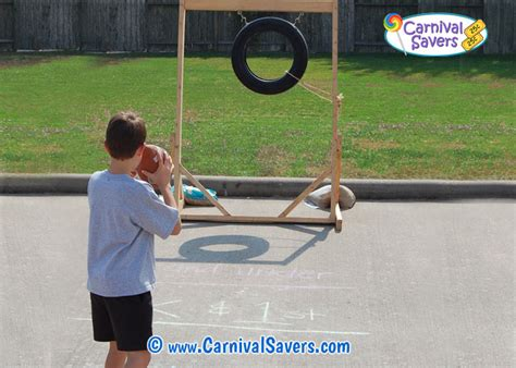 Diy Football Toss Carnival Game