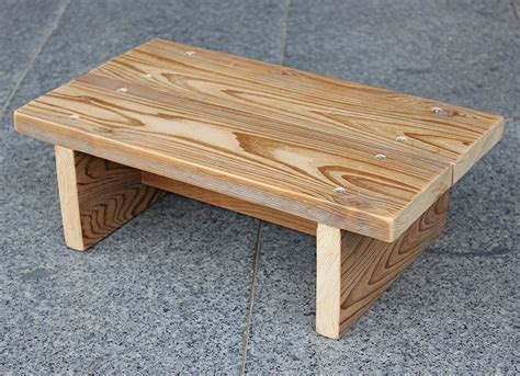 Diy Footstool Wood