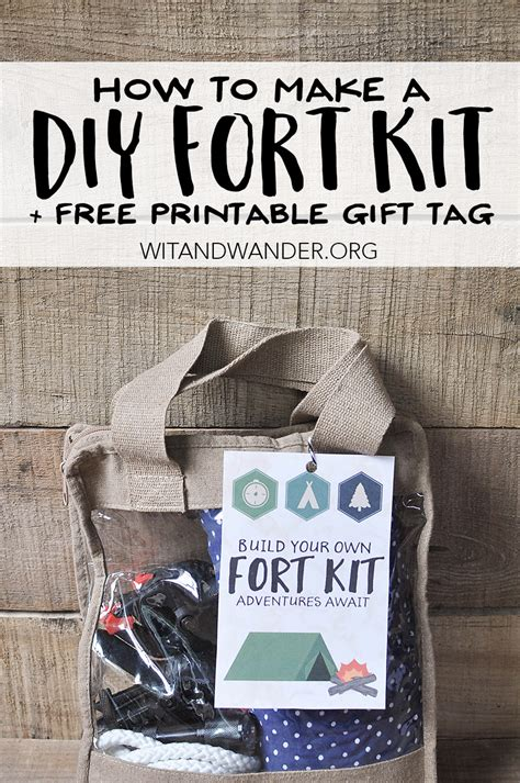 Diy Fort Kit For Boys