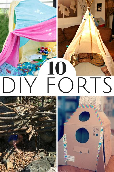 Diy Forts For Kids To Make Outside