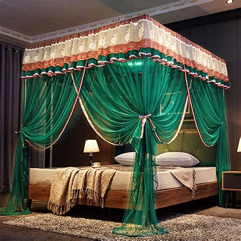 Diy Four Poster Bed With Curtains