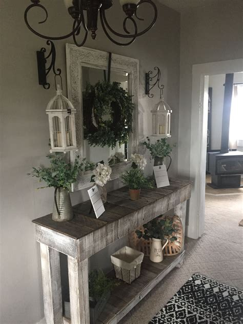 Diy Foyer Table Decorating Ideas