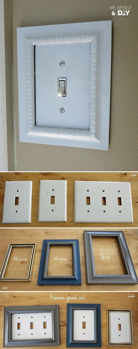 Diy Frame Light Switch Covers