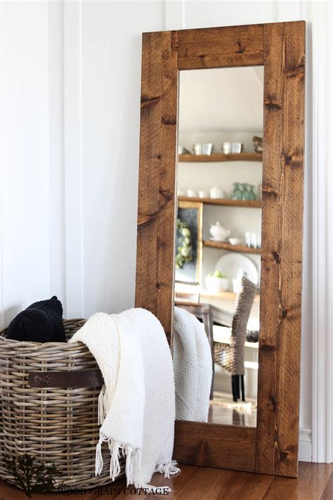 Diy Framed Wall Mirror