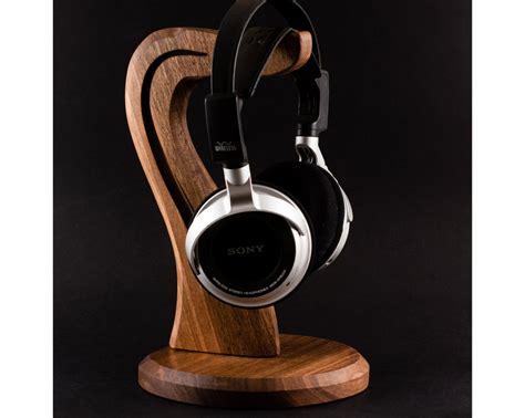 Diy Free Headset Stand Wood