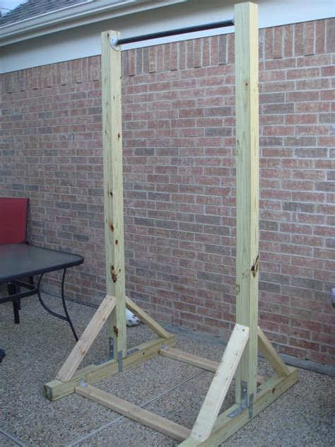Diy Free Standing Pull Up Bar And Dip Station