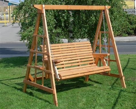 Diy Freestanding Swing