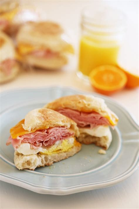 Diy Freezer Breakfast Sandwiches