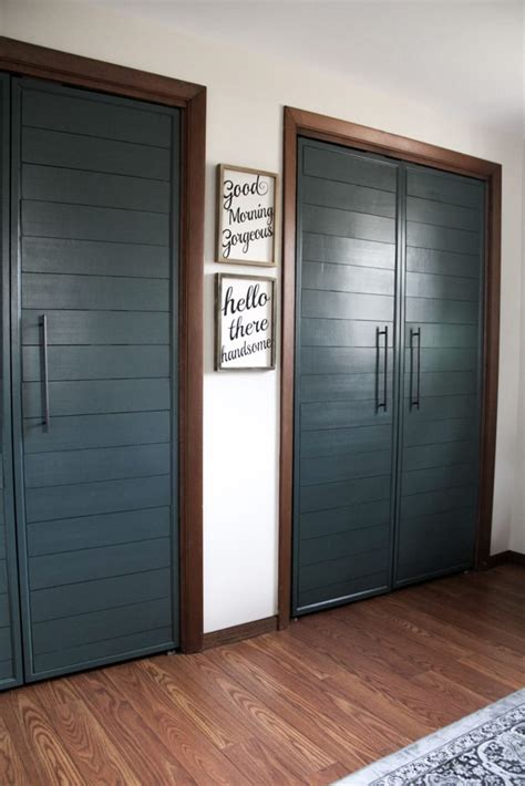 Diy French Door Closet