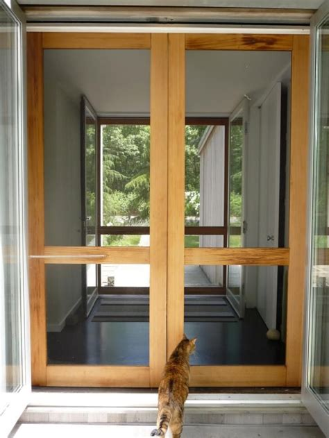 Diy French Door From Screen Doors