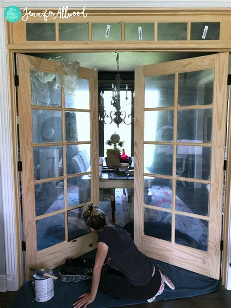 Diy French Doors On Wheels