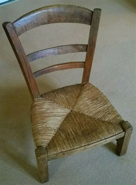 Diy French Grip Wood Leather Chair