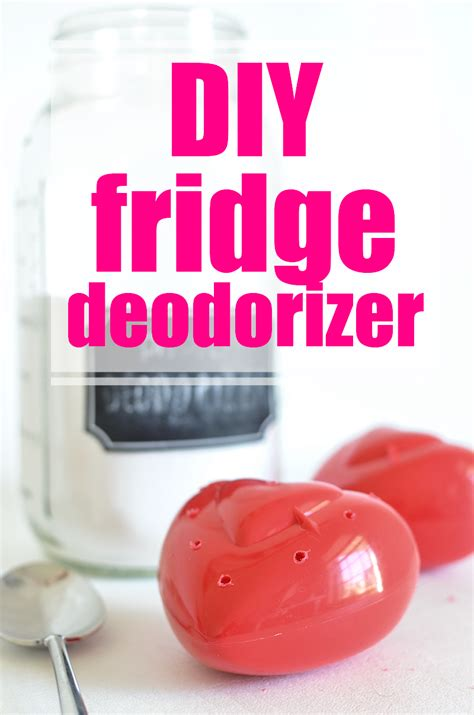 Diy Fridge Deodorizer