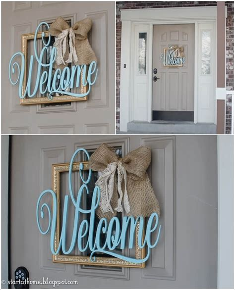 Diy Front Door Sign