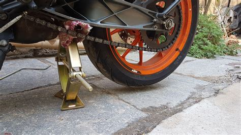 Diy Front Motorcycle Stand