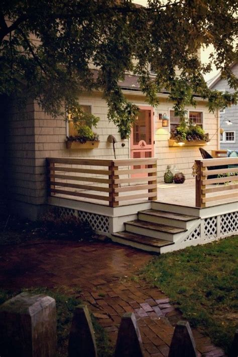 Diy Front Porch Deck