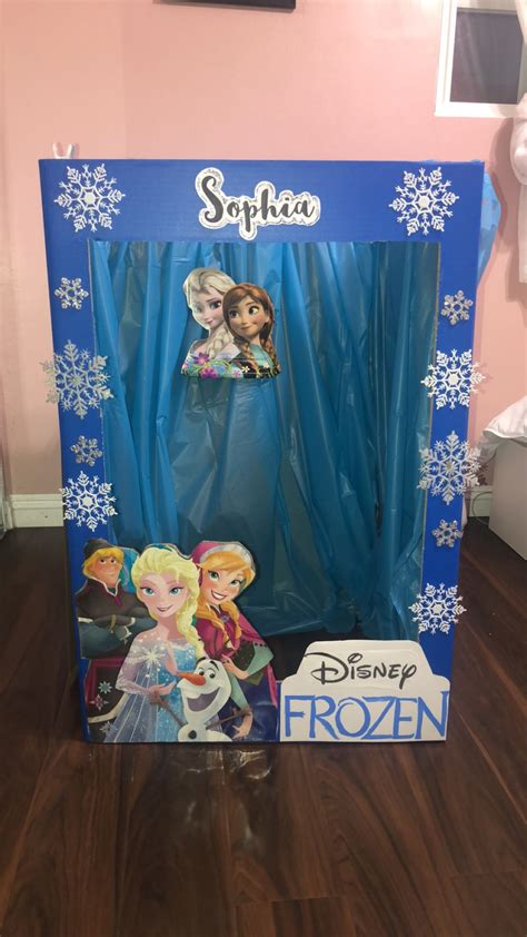 Diy Frozen Photo Frame