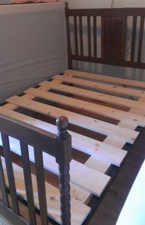 Diy Full Bed Slats