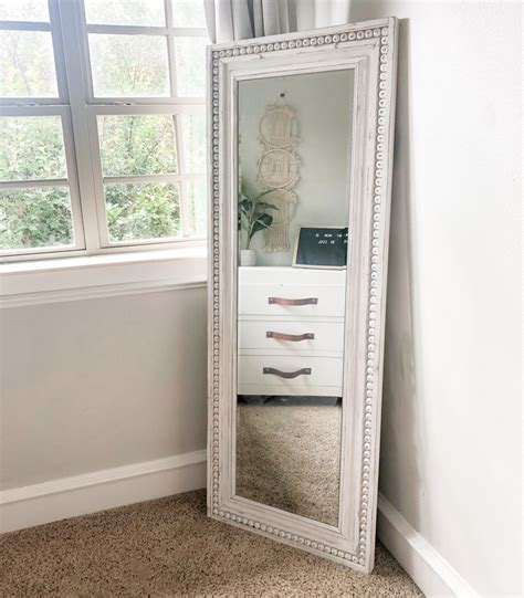 Diy Full Length Mirror Plans