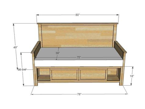 Diy Full Size Daybed Plans