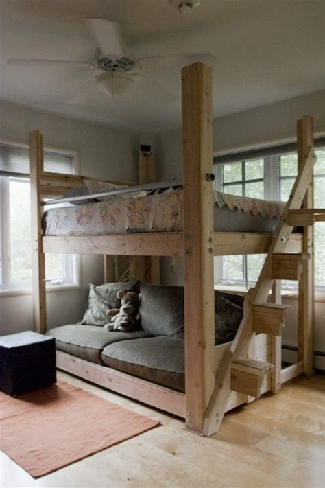 Diy Full Size Loft Bed Plans And Designs