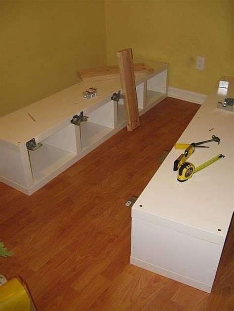 Diy Full Size Platform Bed With Instructions