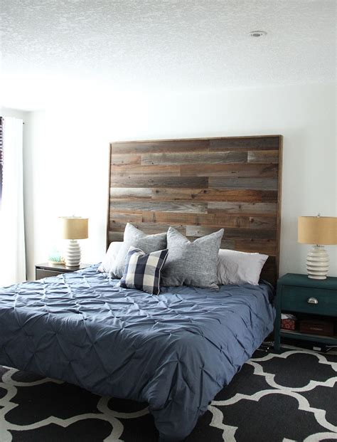 Diy Full Wood Headboard