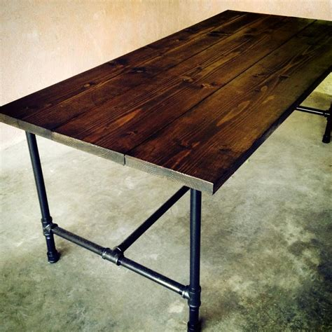 Diy Galvanized Pipe Dining Table