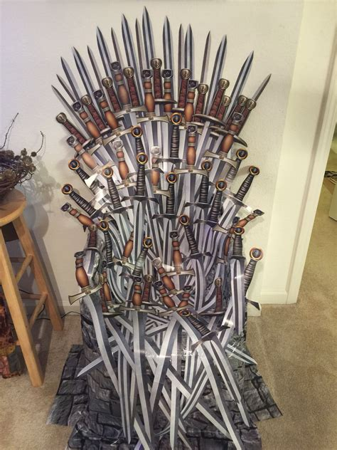 Diy Game Of Thrones Chair