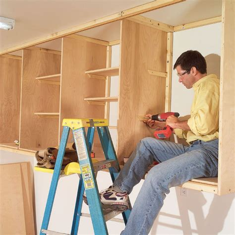 Diy Garage Closet Plans