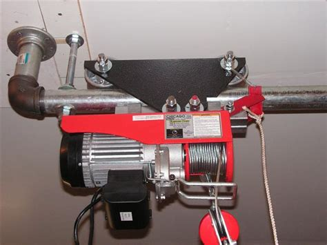 Diy Garage Hoist Trolley