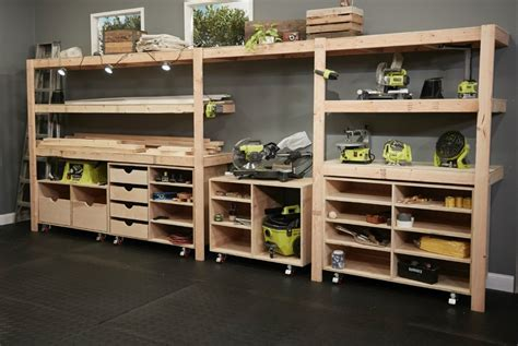 Diy Garage Shop Combination