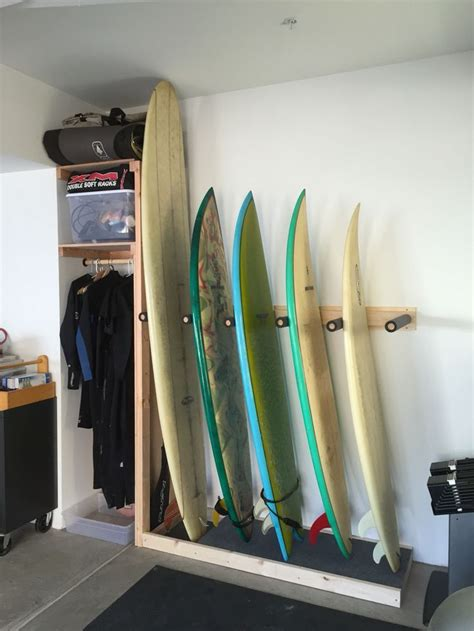 Diy Garage Surf Rack