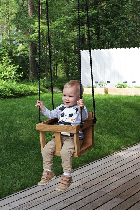 Diy Garage Toddler Swing