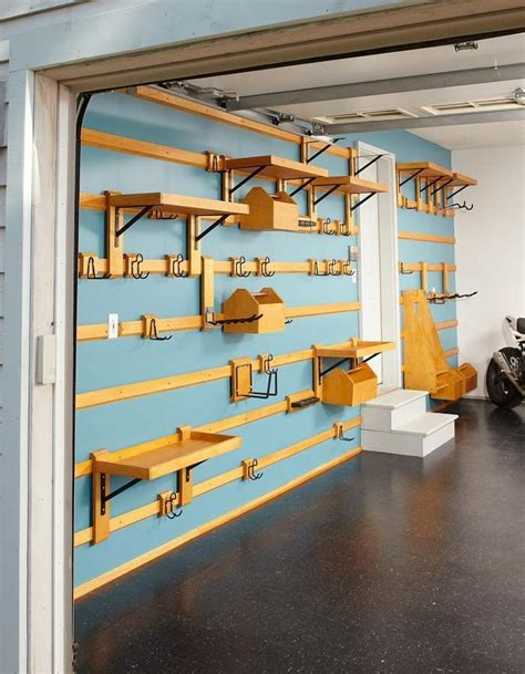 Diy Garage Wall Shelving